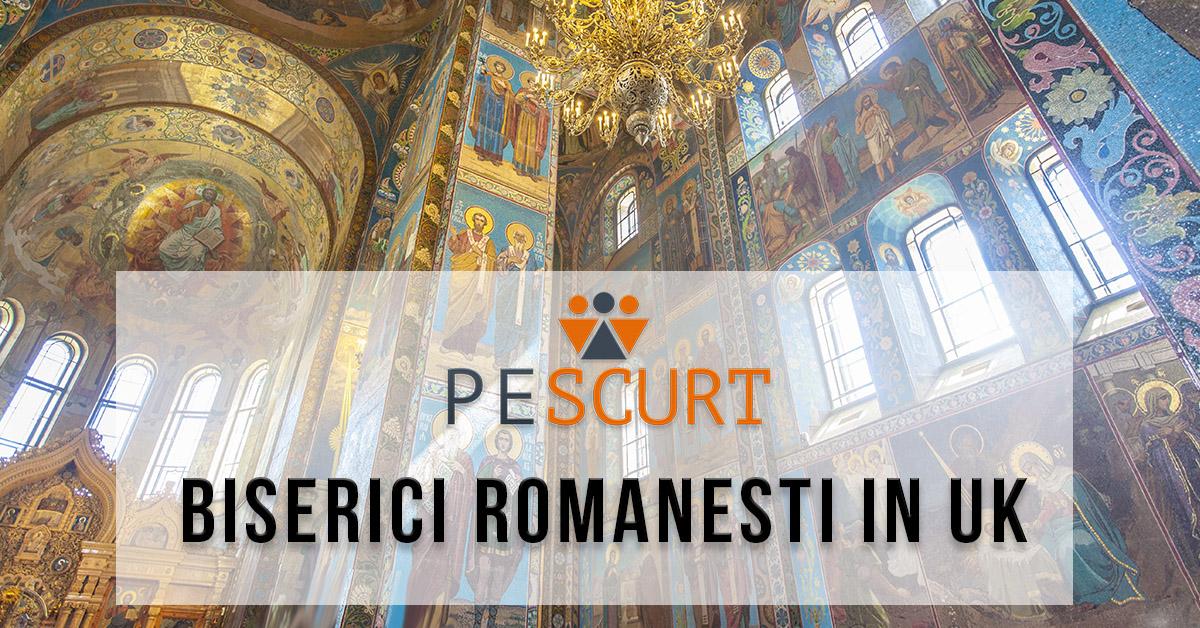 Lista Biserici Romanesti in UK